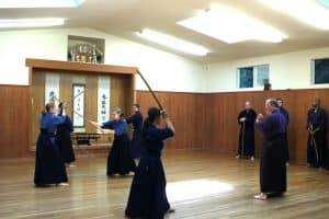 Shintokan Jo training